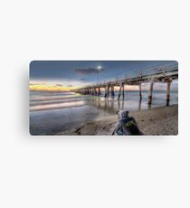 Grange Jetty HDR Canvas Print