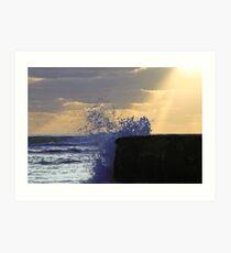 Lightwave Art Print