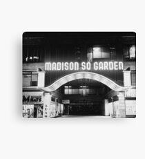 Vintage Madison Square Garden Canvas Print