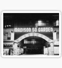 Vintage Madison Square Garden Sticker