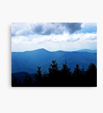 Ridgeline, Blue Ridge Mountains Canvas Print