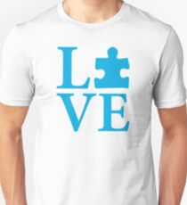 Love Autism Puzzle T-Shirt