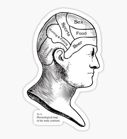 Cranium Sticker