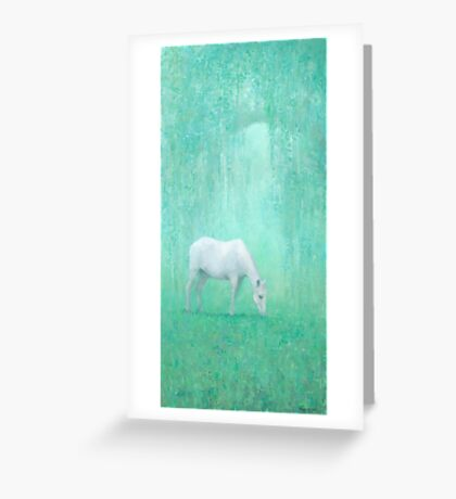 The Green Glade Greeting Card