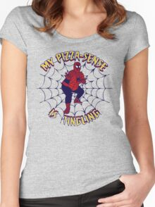 My Pizza-Sense Is Tingling Women's Fitted Scoop T-Shirt