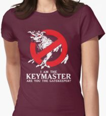 I Am The Keymaster Womens Fitted T-Shirt