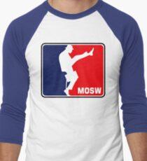 The Ministry Of Silly Walks Men's Baseball ¾ T-Shirt