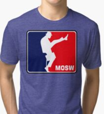 The Ministry Of Silly Walks Tri-blend T-Shirt
