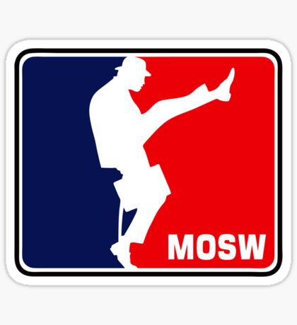 The Ministry Of Silly Walks Sticker