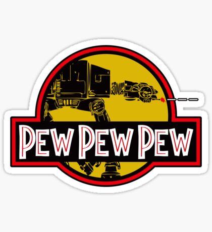 Pew Pew Pew Sticker