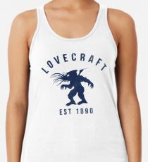 Lovecraft Racerback Tank Top