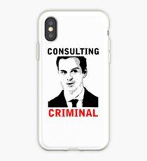 Consulting Criminal iPhone Case