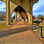 Underneath Main Street Bridge in Conway South Carolina by Joey O'Connor