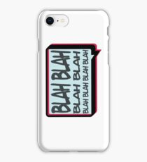 Blah iPhone Case/Skin
