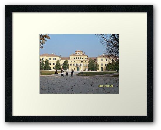 IL PARCODUCALE...la casa di Maria Luigia D'Austria, moglie di Napoleone..PARMA - ITALY- Europa - 2600  visualiz.- RB EXPLORE  NOV. 2011 -                                                  by Guendalyn