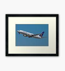 United N33294 Boeing 737-824 on Take Off Framed Print