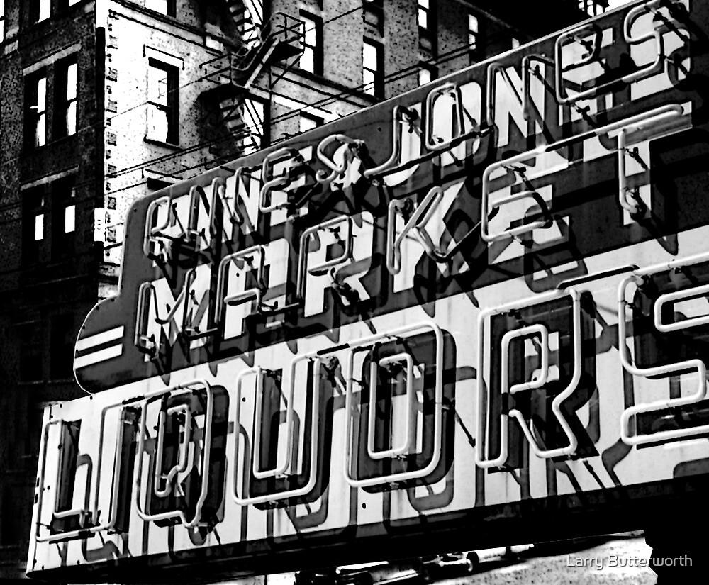 JONES STREET MARKET by Larry Butterworth