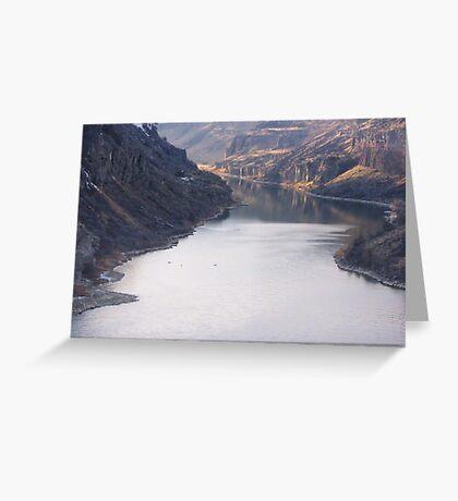 The Bottom of Shoshone Falls Snake River-2008 Greeting Card