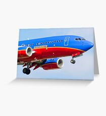 N946WN, Southwest Airlines Boeing 737-3H4 Greeting Card