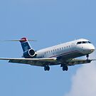 N404AW US Airways Express On Approach by Henry Plumley