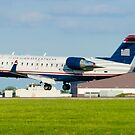 N428AW US Airways Express CL-600-2B19 by Henry Plumley