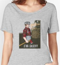 Lumberjack warning! Women's Relaxed Fit T-Shirt