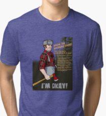 Lumberjack warning! Tri-blend T-Shirt