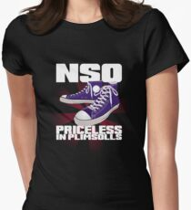 Roller Derby NSO - Priceless in Plimsolls Womens Fitted T-Shirt