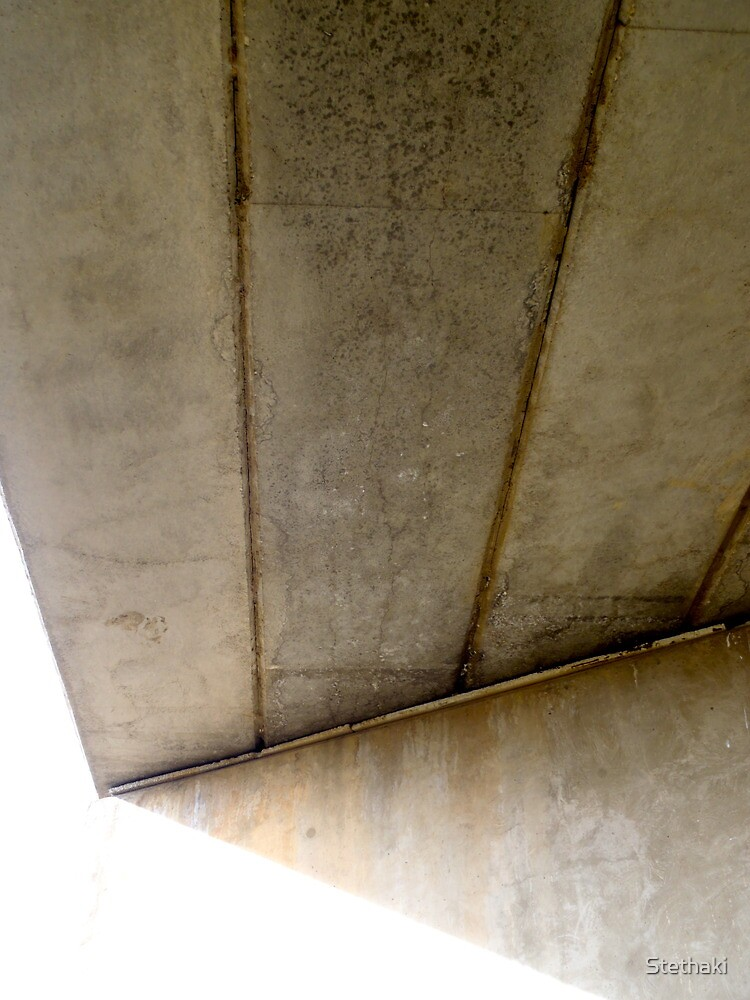 Abstract Forms: Concrete Planks, Rock Flat Creek by Stethaki