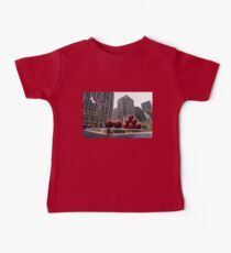 A Christmas Card from New York City - Fifth Avenue Sophistication Baby Tee