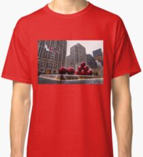 A Christmas Card from New York City - Fifth Avenue Sophistication Classic T-Shirt