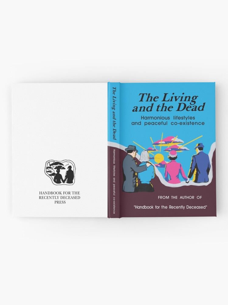 Alternate view of Beetlejuice - The Living and the Dead - Handbook Hardcover Journal