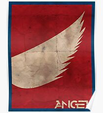 Minimalist Angel Poster