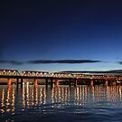 Iron Cove Bridge at dusk by Arfan Habib