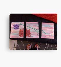Flowing Lotus Canvas Print