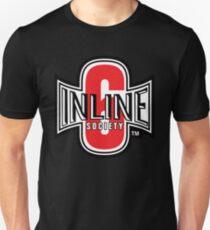 Inline 6 Society - Design #2 Unisex T-Shirt