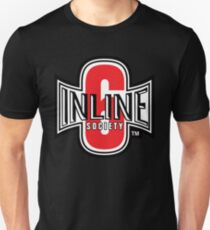 Inline 6 Society - Design #2 Slim Fit T-Shirt