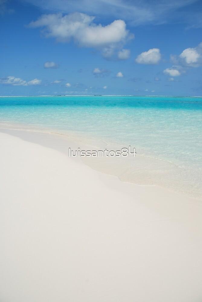 Maldives beach by luissantos84