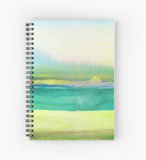 Sea Sky Scape Spiral Notebook