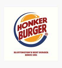 Honker Burger Art Print