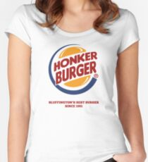 Honker Burger Women's Fitted Scoop T-Shirt