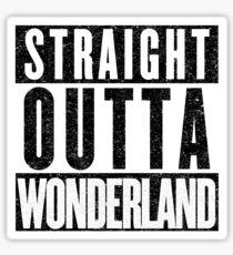 Wonderland Represent! Sticker