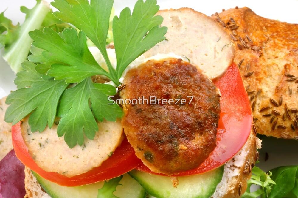 Chicken-Burger de Light by SmoothBreeze7