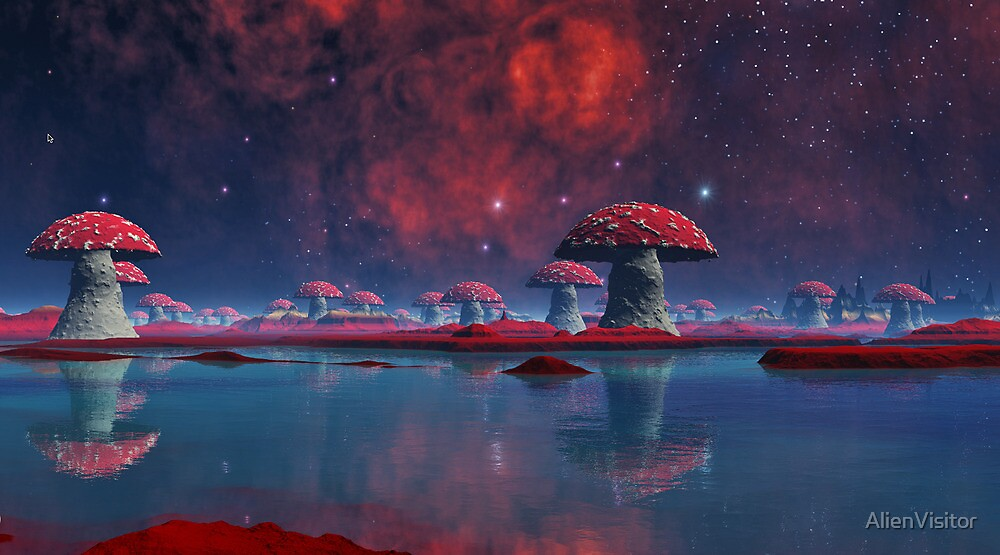 Fungi Revisited by AlienVisitor