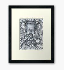 "Little Rock Comedian, Micheal ""Doc"" Davis Framed Print"