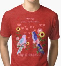 Love Notes From The Heart Tri-blend T-Shirt