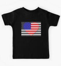 United States Flag T-shirt Kids Tee