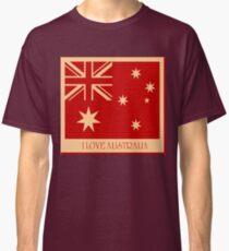 Australia Flag Vintage T-shirt Classic T-Shirt