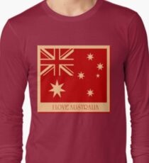 Australia Flag Vintage T-shirt T-Shirt