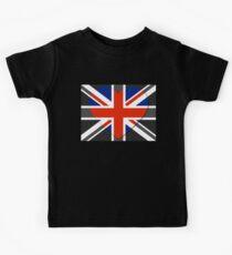 United Kingdom Flag T-shirt Kids Tee